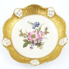 Porcelana Rosenthal. Rosenthal paterka Moliere z brabantem, średnica 20 cm.