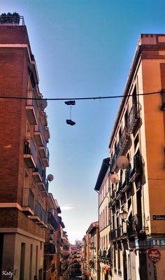 Calle del Amparo . Madrid