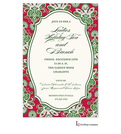 Company party invitation sample corporate holiday party invitation christmas tea and cookie exchange party invitations 2016 stopboris Images