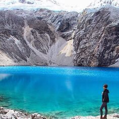 Location: Laguna 69 - Parque Nacional Huascarán, Peru. Photo Credit: @apaixonadosporviagens
