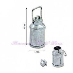 Pot à lait en métal - DM138 1/12ème #maisondepoupées #dollhouse #meuble #furniture #miniature #metal