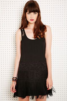Free People Charleston Satin Dress // from Urban Outfitters //