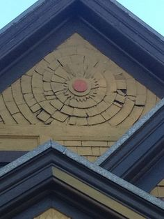 Porch Gable, Architectural Shingles Roof, Cedar Shingles, Curb Appeal, Front Porch, My House, Bali, My Design, Artsy