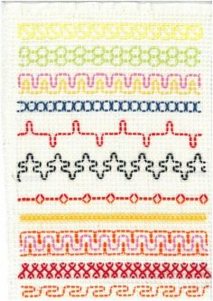 Swedish Embroidery, Types Of Embroidery, Beaded Embroidery, Embroidery Stitches, Hand Embroidery, Free Swedish Weaving Patterns, Knitting Patterns, Quilt Stitching, Cross Stitching