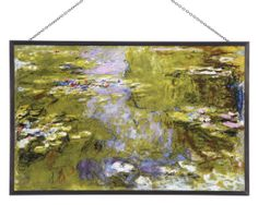 Water Lily Pond Glass Panel, Glass Panels, Home Furnishings - The Museum Shop of The Art Institute of Chicago