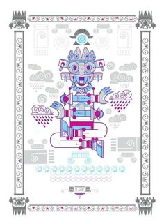 DIOSES by Paulo Villagran, via Behance