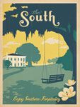 The South: Enjoy Southern Hospitality print from Anderson Design Group