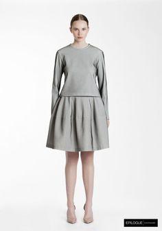 9 Epilogue by Eva Emanuelsen SS14 terry top terry skirt