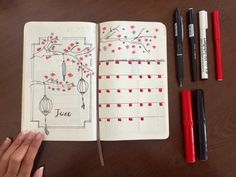 I have recently started a Bullet Journal. it is so much fun. I am very pleased with the theme and how it turned out #bulletjournal #bujo#june