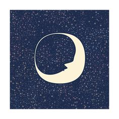 Celestial Moon by Katherine Morgan for Minted