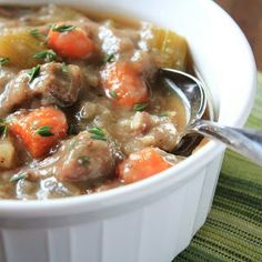 The Best Slow Cooker Beef Stew Ever