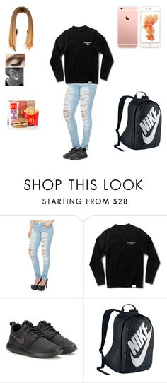 """""""Untitled #219"""" by dajacarter22 ❤ liked on Polyvore featuring Almost Famous and NIKE"""