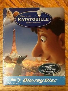 Blu Ray DVD Steelbook Disney Ratatouille New Sealed Futureshop Exclusive