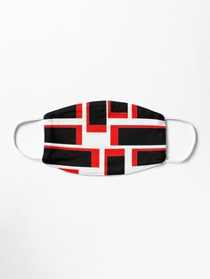 Stunning Black & Red Shapes • Millions of unique designs by independent artists. Find your thing. Amp, Shapes, Artists, Unique, Stuff To Buy, Accessories, Black, Design, Black People
