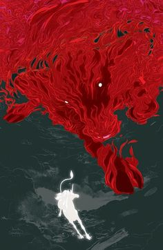 The Last Unicorn and the Red Bull