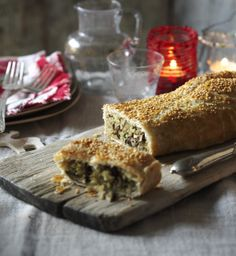 A show-stopping alternative to beef Wellington, this vegetarian recipe will have everyone asking for another slice.