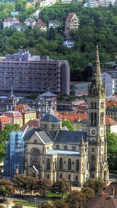 Stuttgart, Baden-wurttemberg, Germany, Europe, Building, World