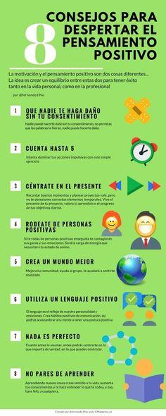 Facebook 3 Twitter 3 Google+ Buffer Pinterest 5 LinkedIn El pensamiento positivo y la motivación como eje principal para el éxito personal y profesional. Lo sabemos, nadie es de piedra, cada uno afronta los obstáculos de la mejor manera que pueda, aunque a veces no sea suficiente. En este caso queremos ofrecerles algunos contenidos para …