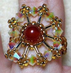 Crystal Carnival Ring - via @Craftsy