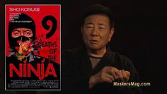 SHO KOSUGI - ONE ON ONE EXCLUSIVE  INTERVIEW by MASTERS Magazine