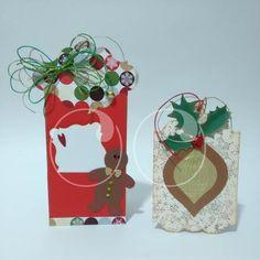 Tarjetas navideñas para marcar tus regalos de una manera especial esta navidad!
