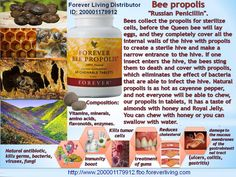 Forever Bee Propolis® Forever Bee Propolis® supports the body's natural defenses.  When we think of bees, honey and pollen are usually the first things that come to mind. However, there's another powerful substance that bees play an integral role in, propolis.