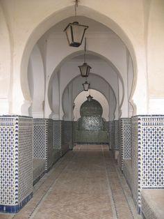 Mosque Entrance, Kasbah, Tanger, Morocco
