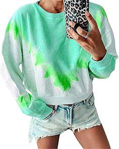 KANGMOON Women Leopard Print Color Block Shirts Crewneck Sweatshirts Casual Comfy Long Sleeve Pullover Tops BlousesS-5XL