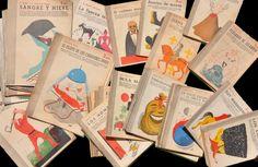 Cover art by Manolo Prieto, 1940s-50s.