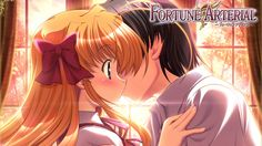 fortune arterial, boy, girl - http://www.wallpapers4u.org/fortune-arterial-boy-girl/