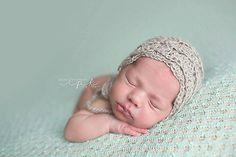 Ravelry: Vivian Baby Bonnet pattern by Crochet by Jennifer