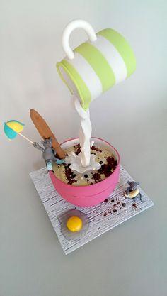 Splash in the pan cake