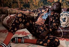 A special: Dries van Noten. Fernando, art directed by Florence Tétier, photographed by Nicolas Coulomb, styled by Georgia Pendlebury