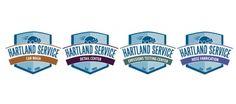 Hartland Service Automotive Center - Company Divisions Logos - Designed by Ocreative Design Studio -www.ocreativedesign.com