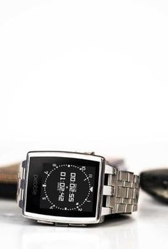 The Pebble Steel.