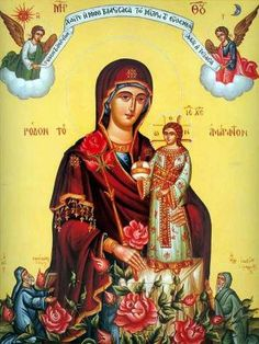 """Continued from Part Two . Mary As Prophetess Another prophecy of Isaiah is: """"'And I went into the prophetess and she conceived and b. Christian Stories, Christian Art, Blessed Mother Mary, Blessed Virgin Mary, Christmas Reflections, Jesus Father, Mama Mary, Holy Mary, Madonna And Child"""