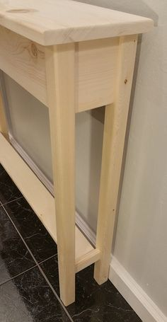 Long Narrow Console Table To Put Behind Sofa Against A