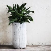 U planter 1 stucco