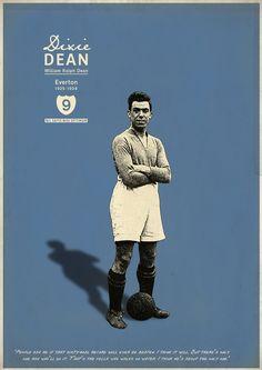 "William Ralph ""Dixie"" Dean, Everton (1925–1937, 399 apps, 349 goals)"