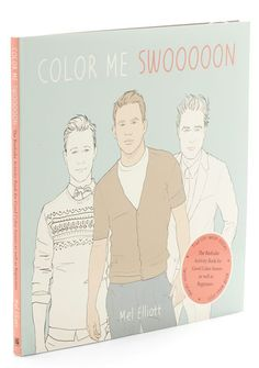 Color me Swoon Activity Book. For the pal who has everything save a famous fella, this activity book features every heartthrob under the sun! Coloring Books, Coloring Pages, Best Secret Santa Gifts, Happy Galentines Day, Best Valentine Gift, Valentines, Family Presents, Gifts For Your Girlfriend, Vintage Books