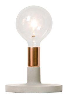 Lampe à poser Linda - Cuivre
