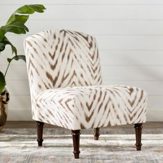 Found it at Wayfair.ca - Situ Animal Print Slipper Chair