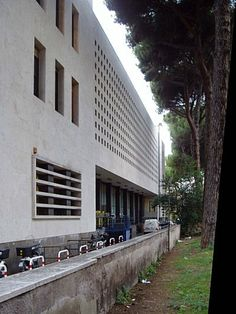 Adalberto Libera. Roma 1933-35. Palazzo delle Poste in via Marmorata.