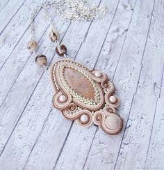 Soutache Pendant, Soutache Jewelry, Shibori, Jewerly, Beading, Handmade Jewelry, Brooch, Leather Collar, Bracelets
