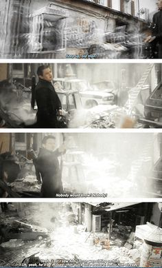 Avengers: Age of Ultron #marvel love this it's so funny. love Hawkeye and Quicksilver. Sox about language