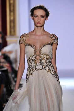 Looking like a Greek goddess-Zuhair Murad Spring/Summer 2013