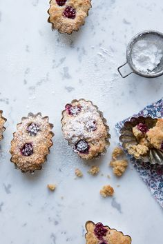 Blackberry financiers :: Sonja Dahlgren/Dagmar's Kitchen
