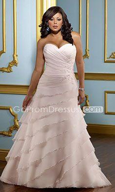 Rose colour plus size #weddingdress - Find more like this at http://www.myweddingconcierge.com.au