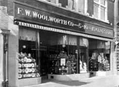 Windsor's original F.W. Woolworth store. (The Windsor Star-FILE)