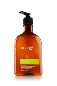 Energy - Lemon Zest Hand Soap - Aromatherapy - Bath & Body Works I love this scent and also have the orange ginger one  :)